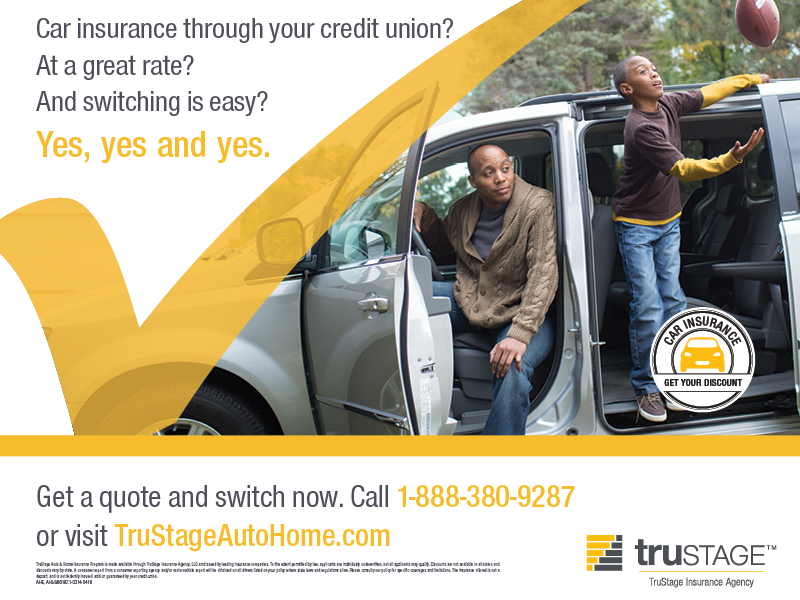 TruStage Insurance - car insurance through your credit union - Get a quote and switch now